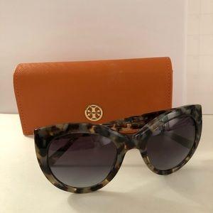 NIB Tory Burch TY7115 Tortoise Sunglasses